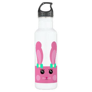 Cute Pink Bunny Bottle