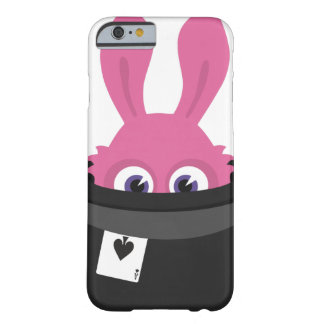 Cute pink bunny for Happy Easter Barely There iPhone 6 Case