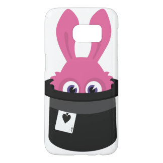 Cute pink bunny for Happy Easter Samsung Galaxy S7 Case