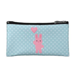Cute Pink Bunny Makeup Bag
