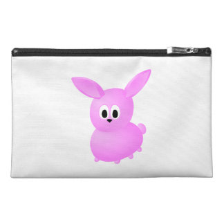 Cute Pink Bunny Rabbit. Travel Accessories Bag