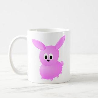 Cute Pink Bunny Rabbit. Coffee Mug