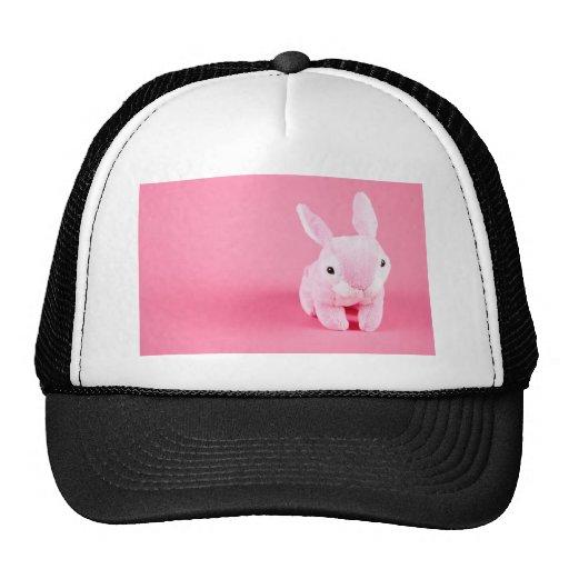 Cute Pink Bunny Trucker Hat