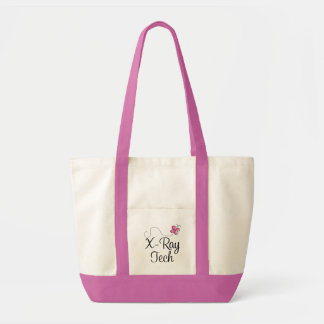 Cute Pink Butterfly X-ray tech Impulse Tote Bag