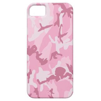 Cute Pink Camouflage iPhone SE/5/5s Case