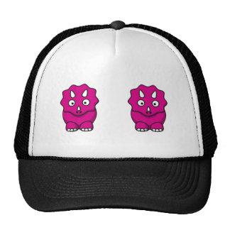 Cute Pink Cartoon Dinosaur Trucker Hat
