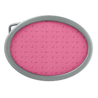 Cute pink cat pattern belt buckles