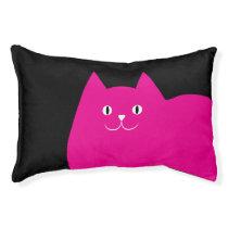 Cute Pink Cat Pet Bed