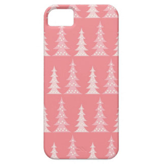 Cute Pink Christmas Tree Winter  iPhone 5 Case