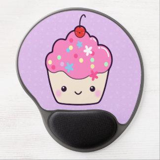 Cute Pink Cupcake Gel Mouse Pad