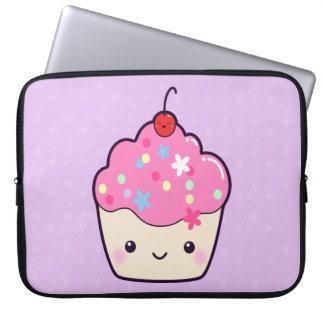 Cute Pink Cupcake Laptop Computer Sleeves
