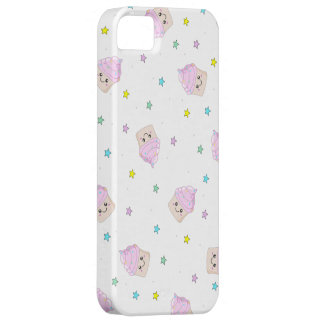 Cute pink cupcakes pattern iPhone SE/5/5s case