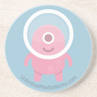 Cute Pink Cyclops Alien Coaster