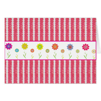 Cute Pink Designer Note Cards