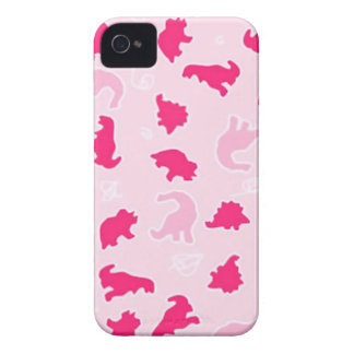 Cute pink dinosaurs iPhone 4 Case-Mate case