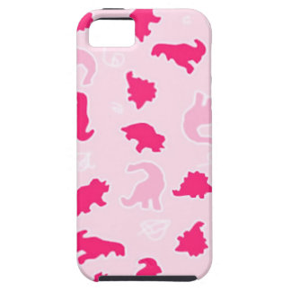 Cute pink dinosaurs iPhone SE/5/5s case