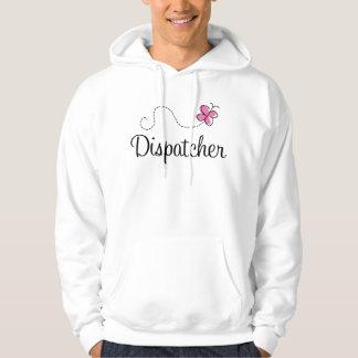 Cute Pink Dispatcher Hoodie