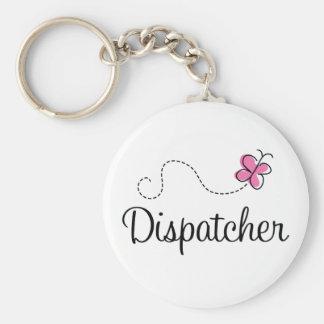 Cute Pink Dispatcher Key Chains