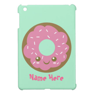 Cute Pink Donut Case For The iPad Mini