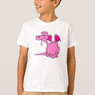 Cute Pink Dragon Baby T-Shirt