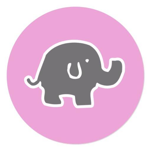 Cute pink elephant - photo#16