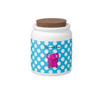 Cute pink elephant candy dishes