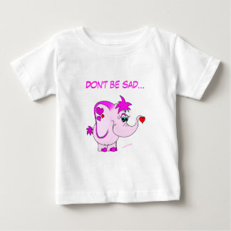 Cute Pink Elephant Lucky Pinkie Infant T-Shirt