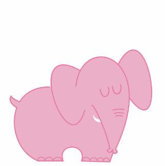 Cute pink elephant - photo#3