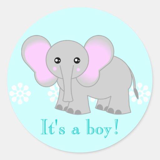 Cute pink elephant - photo#10