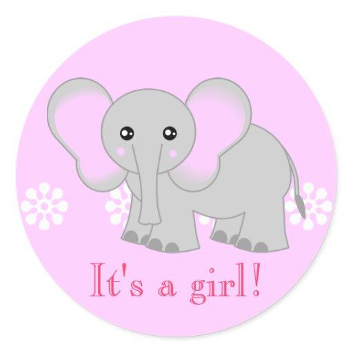 Cute pink elephant - photo#11