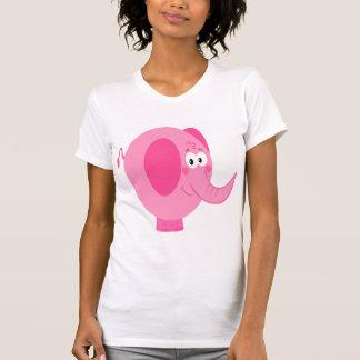 Cute Pink Elephant T Shirt
