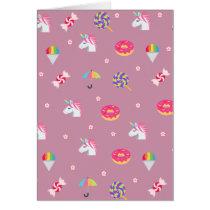 cute pink emoji unicorns candies flowers lollipops