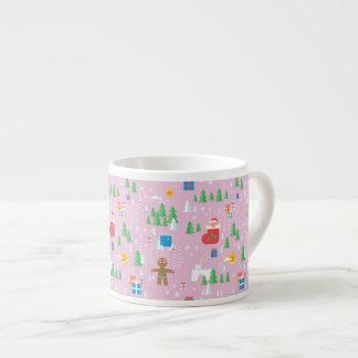 cute pink espresso cup