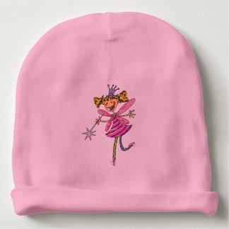 cute pink fairy princess girl baby beanie