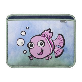 Cute Pink Fish MacBook Air Sleeve