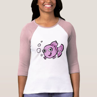 Cute Pink Fish Shirt