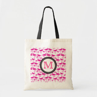 Cute Pink Flamingo cloth bag