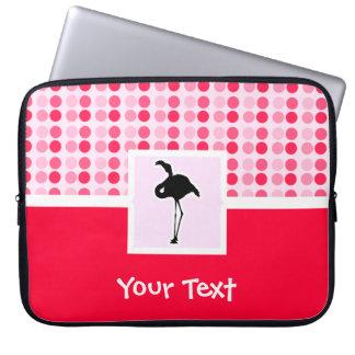 Cute Pink Flamingo Laptop Computer Sleeve