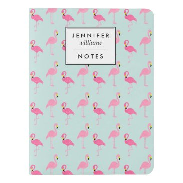Beach Themed Cute Pink Flamingos Extra Large Moleskine Notebook