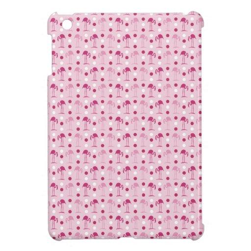 Cute Pink Flamingos iPad Mini Case