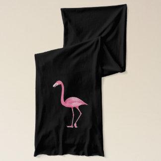 Cute Pink Flamingos Scarf