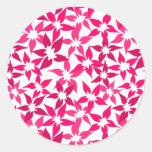 Cute Pink floral sticker