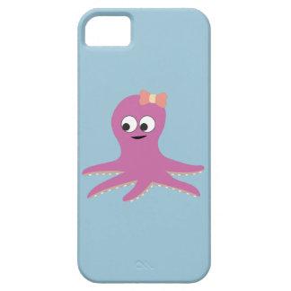 Cute pink girl Octopus iPhone SE/5/5s Case
