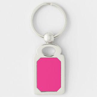 Cute Pink Girls Keychain