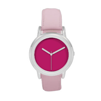Cute Pink Girls Watches