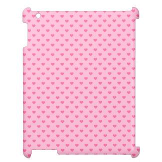 Cute Pink Heart Pattern Love iPad Covers