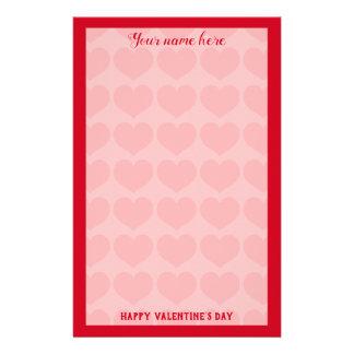 Valentine Letter Stationery  Zazzle