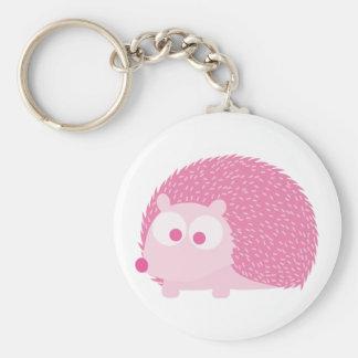 Cute Pink Hedgehog Keychains