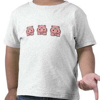 Cute Pink Hippo T-shirt