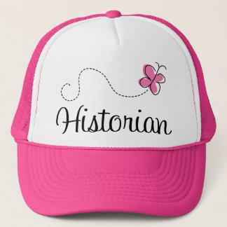 Cute Pink Historian Trucker Hat
